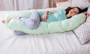 Как выбрать подушку для беременных: лучшие формы и виды