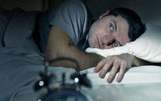 Основные причины появления бессонницы у мужчин