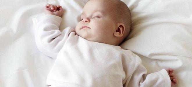 Основные причины стона во сне у ребенка