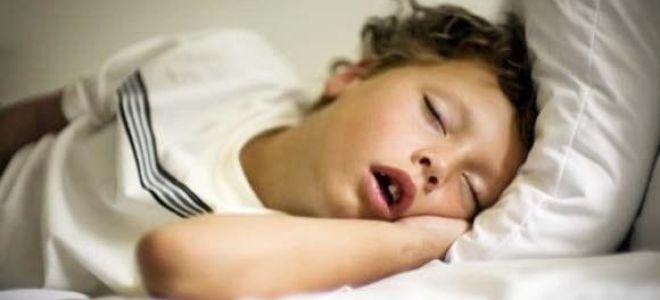 Ночное апноэ у детей: причины задержки дыхания