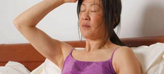 Причины сильной потливости по ночам у женщин