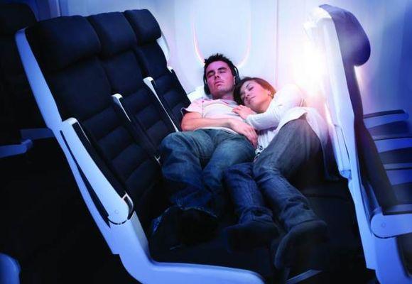 сон в самолете