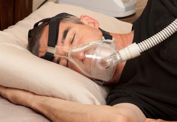 в маске с азотом