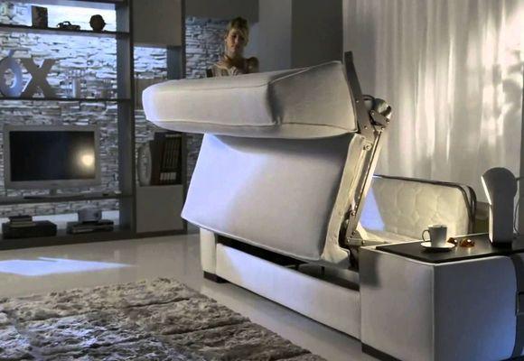 как раскладывается диван