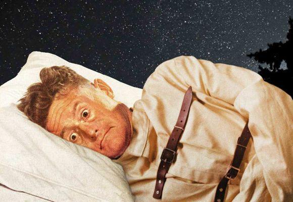 мужчину парализовало во сне