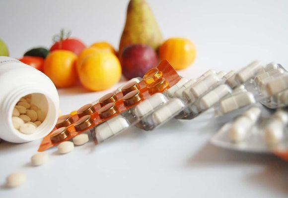таблетки лежат