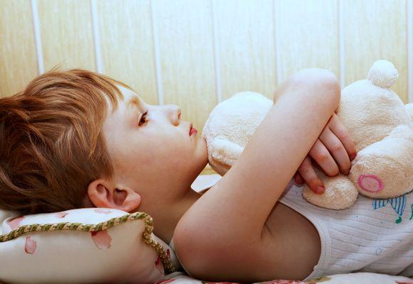 ребенок не может уснуть
