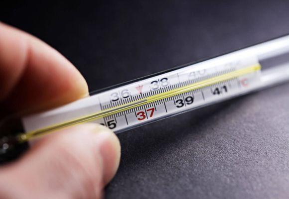 градусник 37 градусов