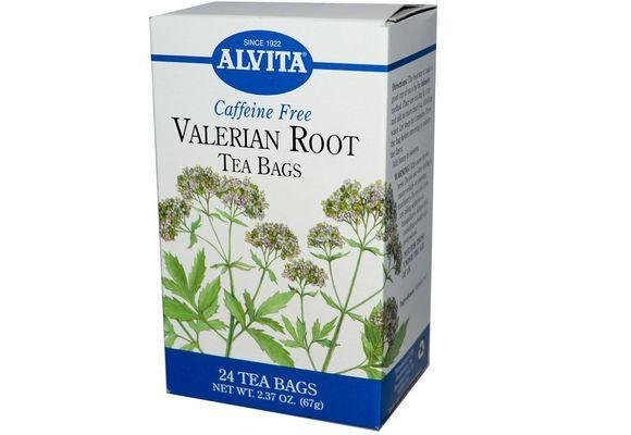 валериановый чай