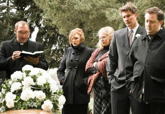 Похороны, прощание
