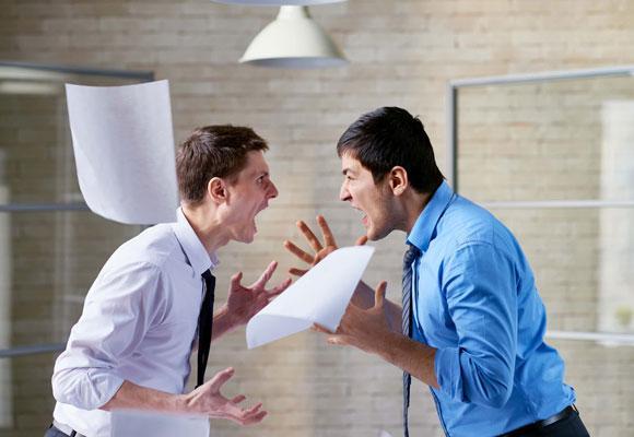Ссора в офисе