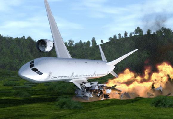 Самолет. крушение