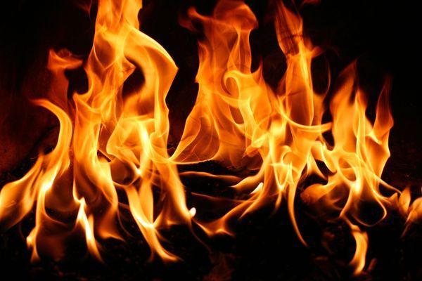 красивое пламя