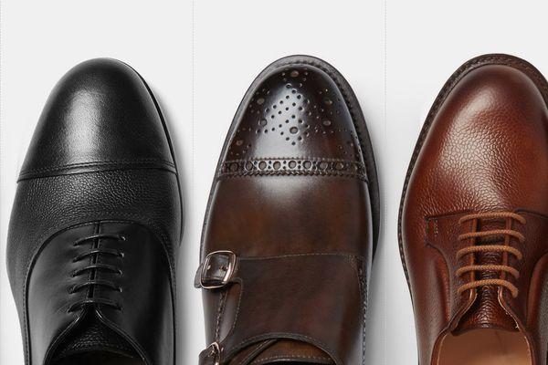 начищенные туфли