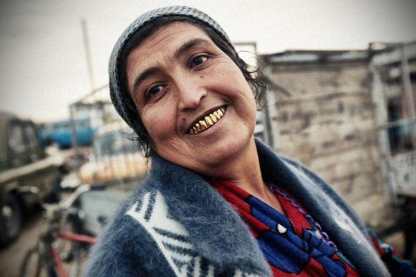 пожилая цыганка