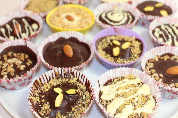 конфеты в обертках