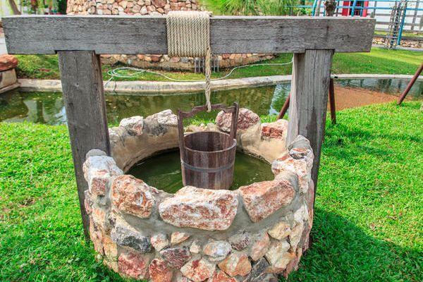 постройка из камня