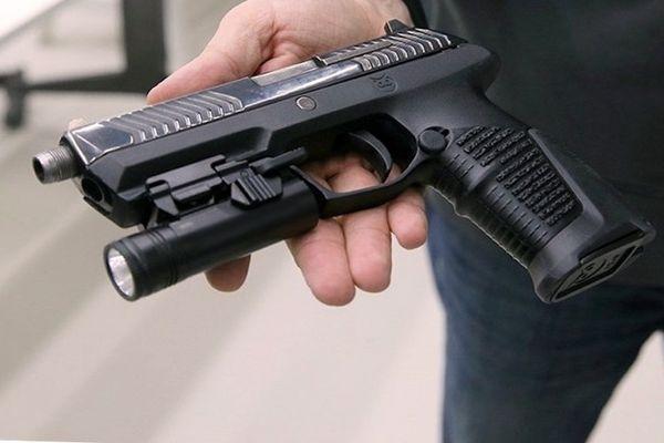 новая модель пистолета