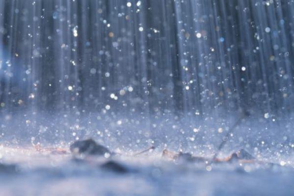 дождевые лужи